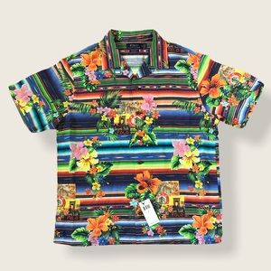 POLO RALPH LAUREN CUSTOM FIT / TROPICAL FLORAL / L